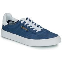 鞋子 球鞋基本款 Adidas Originals 阿迪达斯三叶草 3MC 海蓝色