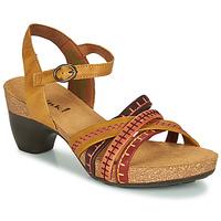 鞋子 女士 凉鞋 Think TRAUDI 黄色 / 红色