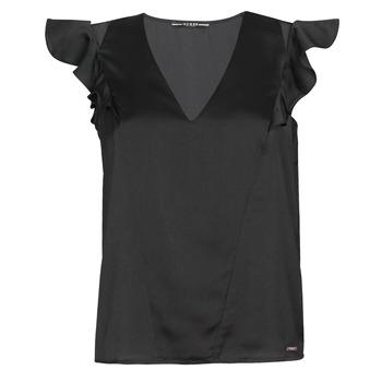 衣服 女士 女士上衣/罩衫 Guess SS DAHAB TOP 黑色