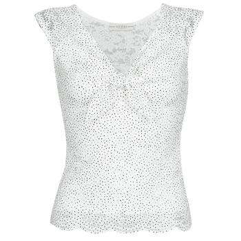 衣服 女士 女士上衣/罩衫 Guess GIUNONE TOP 白色
