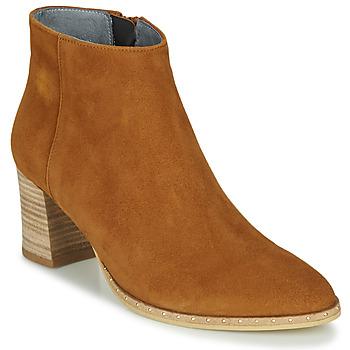 鞋子 女士 短靴 Myma LASTICO 駝色