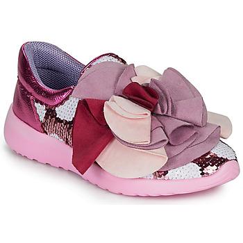鞋子 女士 球鞋基本款 Irregular Choice RAGTIME RUFFLES 玫瑰色