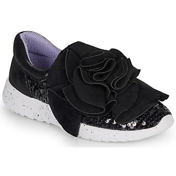 鞋子 女士 球鞋基本款 Irregular Choice RAGTIME RUFFLES 黑色