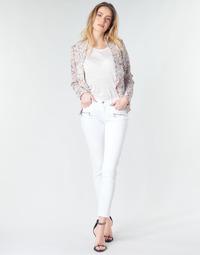 衣服 女士 牛仔铅笔裤 Le Temps des Cerises KIEV SKINY7/8 白色