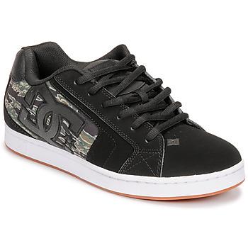 鞋子 男士 球鞋基本款 DC Shoes NET SE 黑色 / 迷彩