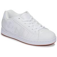 鞋子 男士 球鞋基本款 DC Shoes NET 白色