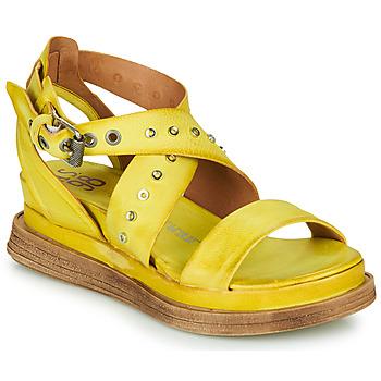 鞋子 女士 凉鞋 Airstep / A.S.98 LAGOS 2 黄色