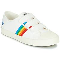 鞋子 女士 球鞋基本款 Gola COASTER RAINBOW VELCRO 白色