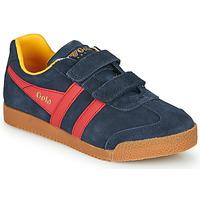 鞋子 儿童 球鞋基本款 Gola HARRIER VELCRO 蓝色 / 红色