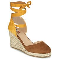鞋子 女士 涼鞋 MTNG GELLO 棕色 / 芥末黃