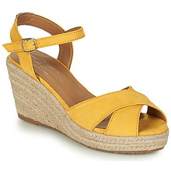 鞋子 女士 凉鞋 Tom Tailor 汤姆裁缝 8090105 黄色