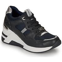 鞋子 女士 球鞋基本款 Tom Tailor 汤姆裁缝 8091512 海蓝色 / 黑色