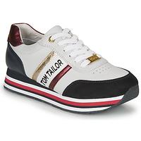 鞋子 女士 球鞋基本款 Tom Tailor 汤姆裁缝  白色 / 蓝色 / 红色