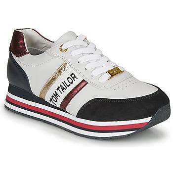 鞋子 女士 球鞋基本款 Tom Tailor 湯姆裁縫  白色 / 藍色 / 紅色