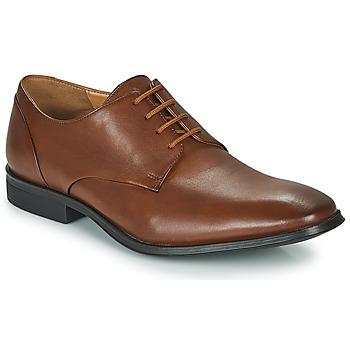 鞋子 男士 德比 Clarks 其乐 GILMAN PLAIN 棕色