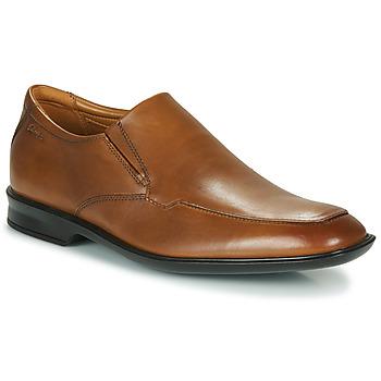 鞋子 男士 德比 Clarks 其乐 BENSLEY STEP 棕色
