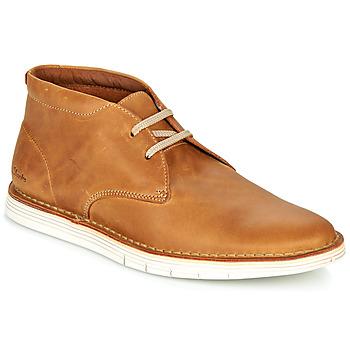 鞋子 男士 德比 Clarks 其乐 FORGE STRIDE 棕色
