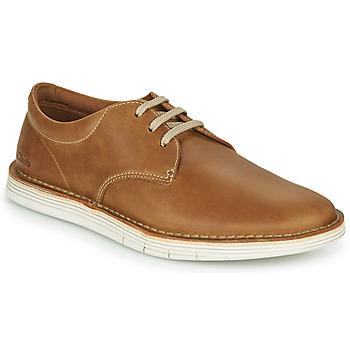 鞋子 男士 德比 Clarks 其乐 FORGE VIBE 棕色