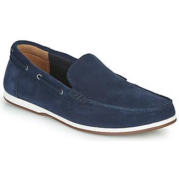 鞋子 男士 船鞋 Clarks 其乐 MORVEN SUN 海蓝色