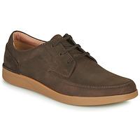 鞋子 男士 德比 Clarks 其乐 OAKLAND CRAFT 棕色