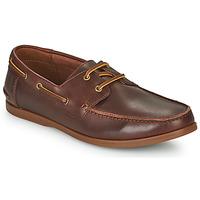 鞋子 男士 德比 Clarks 其乐 PICKWELL SAIL 棕色