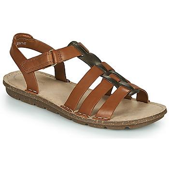 鞋子 女士 凉鞋 Clarks 其乐 BLAKE JEWEL 驼色