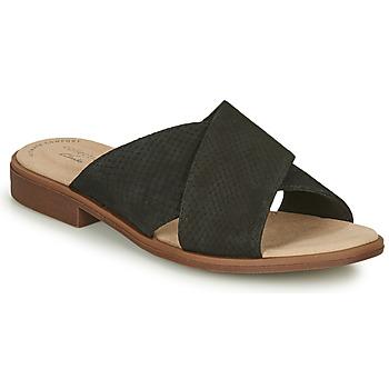 鞋子 女士 休闲凉拖/沙滩鞋 Clarks 其乐 DECLAN IVY 黑色