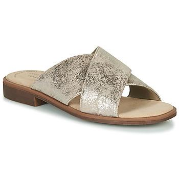 鞋子 女士 休閑涼拖/沙灘鞋 Clarks 其樂 DECLAN IVY 銀灰色