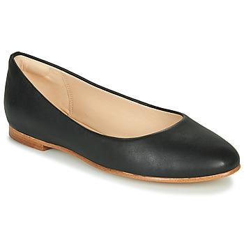 鞋子 女士 平底鞋 Clarks 其乐 GRACE PIPER 黑色