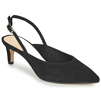 鞋子 女士 高跟鞋 Clarks 其乐 LAINA55 SLING 黑色