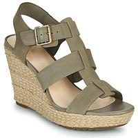 鞋子 女士 凉鞋 Clarks 其乐 MARITSA95 GLAD 卡其色
