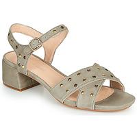 鞋子 女士 凉鞋 Clarks 其乐 SHEER35 STRAP 灰褐色