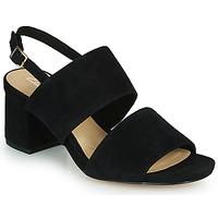 鞋子 女士 凉鞋 Clarks 其乐 SHEER55 SLING 黑色