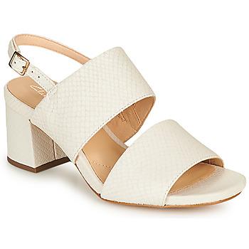 鞋子 女士 凉鞋 Clarks 其乐 SHEER55 SLING 白色