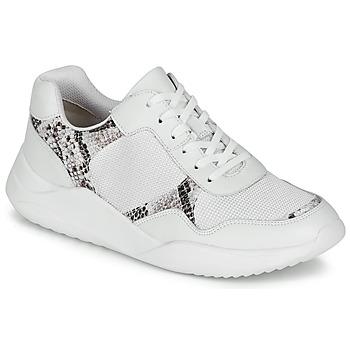 鞋子 女士 球鞋基本款 Clarks 其乐 SIFT LACE 白色 / 莽纹