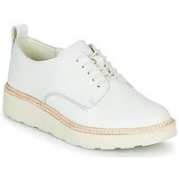 鞋子 女士 德比 Clarks 其乐 TRACE WALK 白色