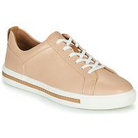 鞋子 女士 球鞋基本款 Clarks 其乐 UN MAUI LACE 玫瑰色