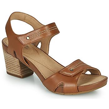 鞋子 女士 凉鞋 Clarks 其乐 UN PALMA VIBE 驼色
