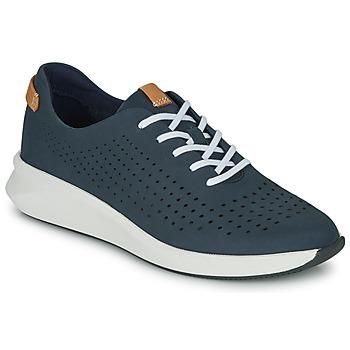 鞋子 女士 球鞋基本款 Clarks 其乐 UN RIO TIE 蓝色