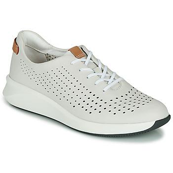 鞋子 女士 球鞋基本款 Clarks 其乐 UN RIO TIE 白色