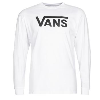 衣服 男士 长袖T恤 Vans 范斯 VANS CLASSIC 白色