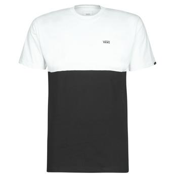 衣服 男士 短袖体恤 Vans 范斯 COLORBLOCK TEE 黑色 / 白色