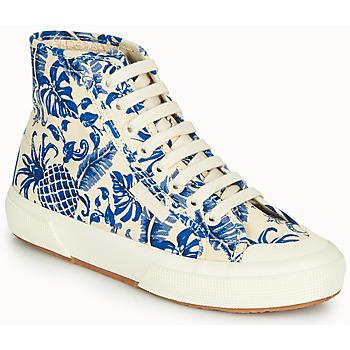 鞋子 女士 高帮鞋 Superga 2295-COTFANW 米色 / 蓝色