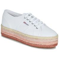 鞋子 女士 球鞋基本款 Superga 2790-COTCOLOROPEW 白色 / 玫瑰色