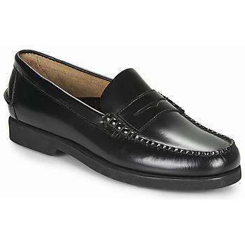 鞋子 男士 皮便鞋 Sebago 仕品高 DAN POLARIS 黑色