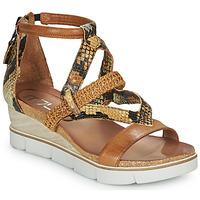 鞋子 女士 凉鞋 Mjus TAPASITA 棕色 / Pyton