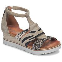 鞋子 女士 凉鞋 Mjus TAPASITA 灰褐色 / Leopard