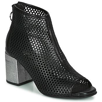 鞋子 女士 短筒靴 Mjus MUSIC 黑色