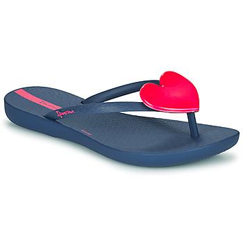 鞋子 女孩 人字拖 Ipanema 依帕内玛 MAXI FASHION 蓝色 / 玫瑰色