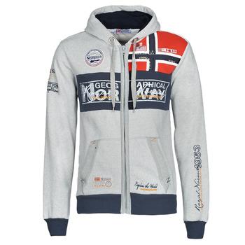 衣服 男士 卫衣 Geographical Norway FLYER 灰色 / 中国红